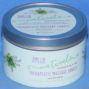 container of massage cream